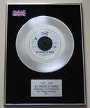 JAM - ALL AROUND THE WORLD PLATINUM Single Presentation Disc